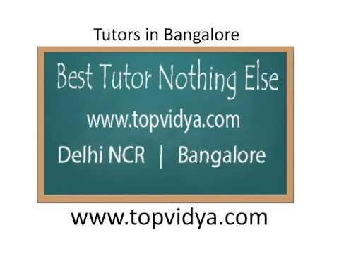 tuition in bangalore