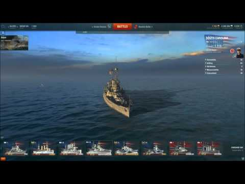World of Warships Gameplay 17 0.5.2(Sims,St. Louis)