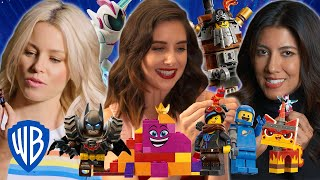 The LEGO Movie 2 | The Stars of The LEGO Movie 2 Get Awesome with Minifigures | WB Kids