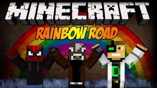 Minecraft: Blow i tak lepszy! - Rainbow Road w/ Blow, iDelti