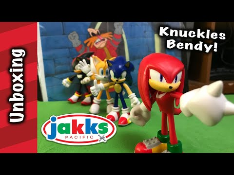 Jakks Pacific Knuckles Bendy Unboxing And Review!