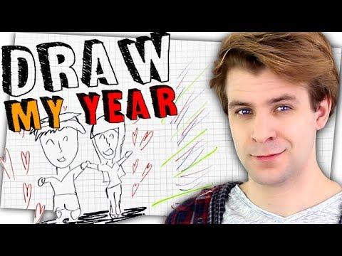 Es wird ein bisschen romantisch 😍 - Zeo Draw my Year 2018