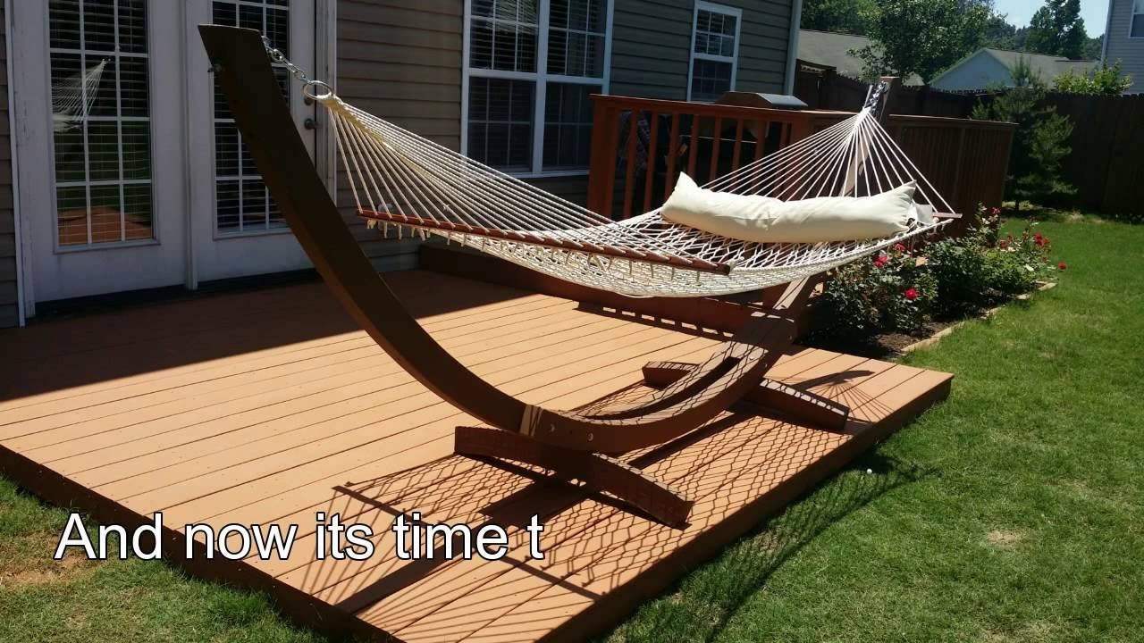 how to build deck over concrete patio diy