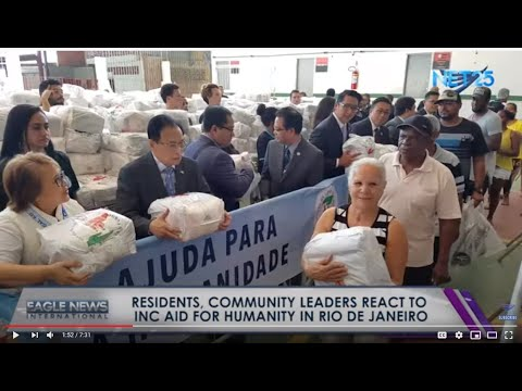 Residents & community leaders react to the Iglesia Ni Cristo Aid for Humanity 4-day event in Brazil