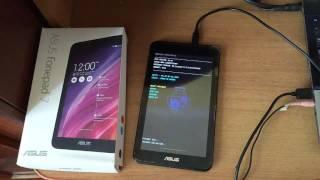Asus Fonepad 7 K012 FE170CG Flashing With Using Flashtool - Видео с