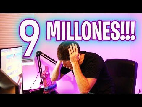 OMG 9 MILLONES!!! - Luzu