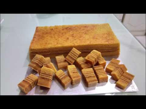 Horlick Layered  Cake /Kek lapis Horlick