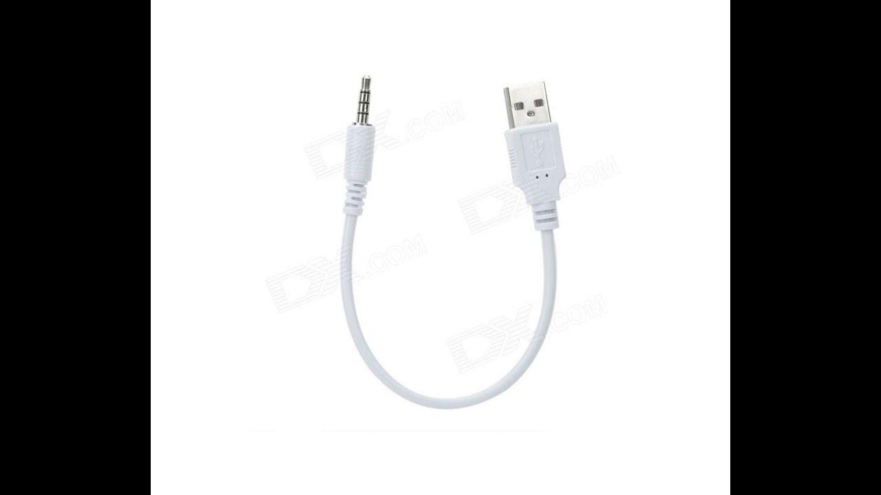 Usb 20 male to 35mm jack dual track audio cable 22cm youtube usb 20 male to 35mm jack dual track audio cable 22cm publicscrutiny Choice Image