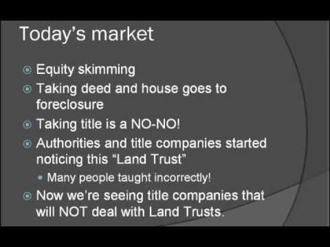 Land Trust vs. Revocable Living Trust