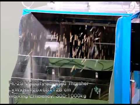 FK 29 Velocity-adjusted Thresher