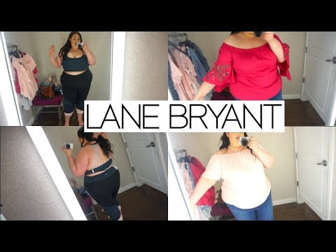 Plus Size Inside The Dressing Room ft. Lane Bryant!!