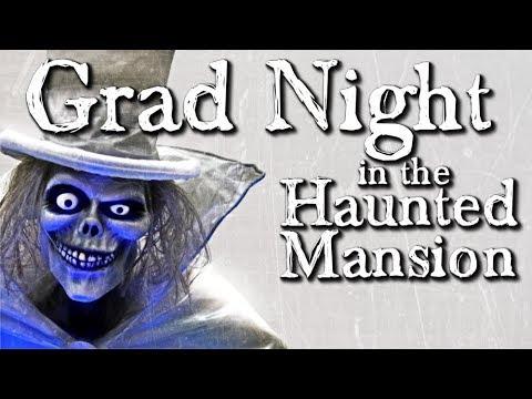 Grad Night in the Haunted Mansion –  Creepypasta (Grusel, Horror, Hörspiel) deutsch