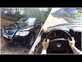 VW Touareg V6 TDI 3.0l POV Drive & Exhaust Sound