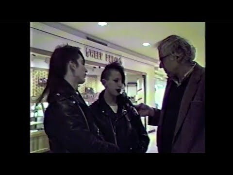 Bernie Speaks 41: In The Burlington Square Mall To Speak With Passers-By - 03/05/1988