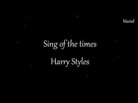 SIGN OF THE TIMES - HARRY STYLES  (LYRICS)
