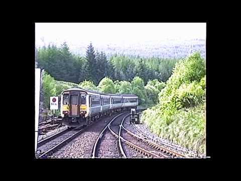 British Rail Vignettes May 1992 #6 Ardlui & Crianlarich to Oban