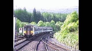 British Rail Vignettes May 1992 #6 Ardlui & Crianlarich to Oban