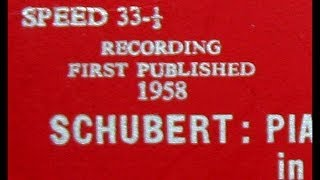 Schubert / Clifford Curzon, 1957: Piano Quintet in A Major, Op. 114 (Trout) -  Willi Boskovsky