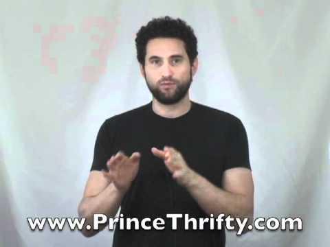 Cut your bills in half. Prince Thrifty - www.PrinceThrifty.com
