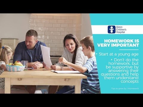 Helping Your Kids With Their Homework