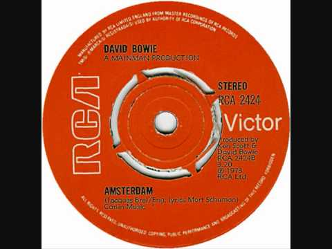David Bowie ~ Amsterdam