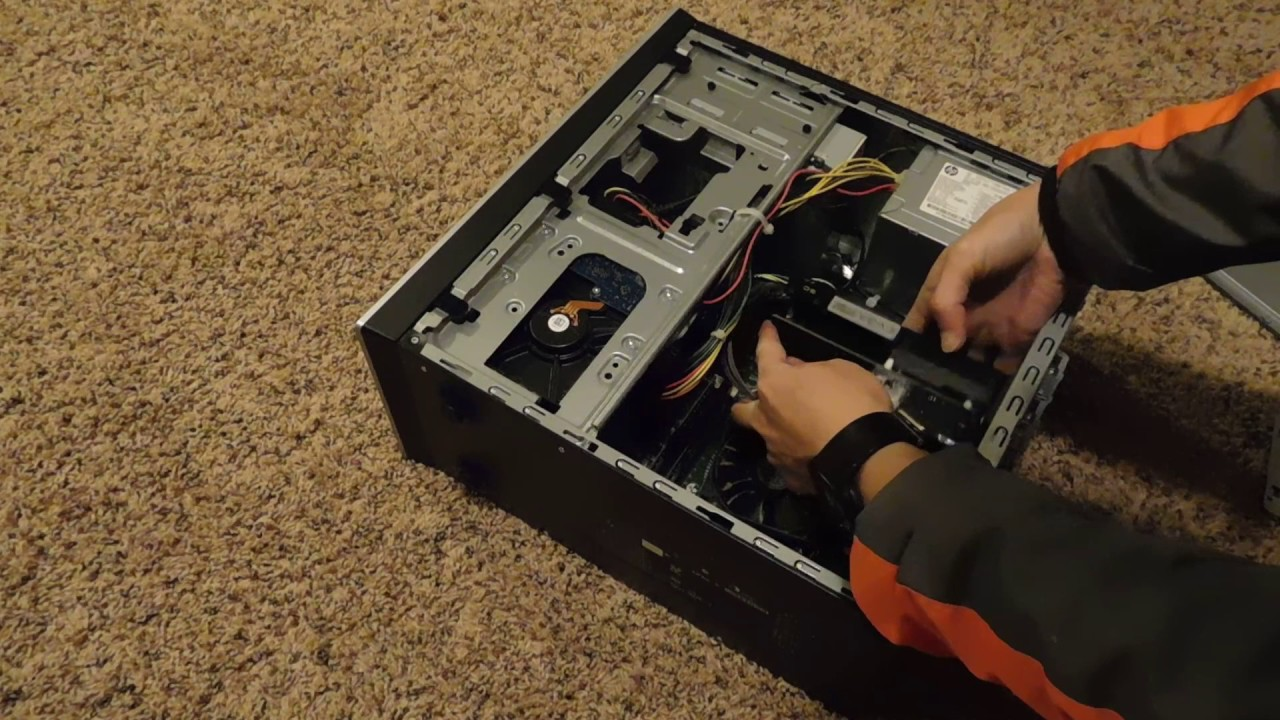 HP Pavilion Graphics Card Installation