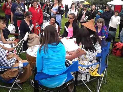 Aboriginal Day pow-wow, Vancouver, 2013