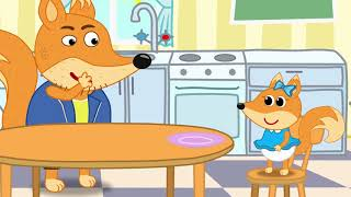The Fox Family and Friends | Not very Well | Cartoon for kids new full episodes #828