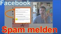 Facebook: Spam und Missbrauch melden bei Kommentaren und Usern