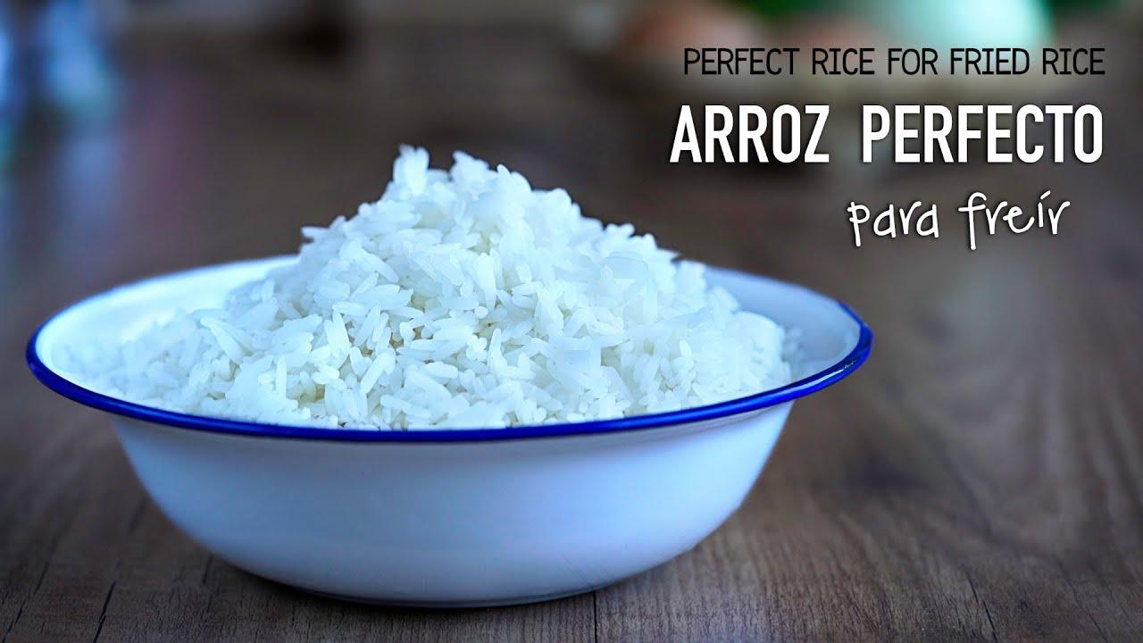 Como cocinar arroz perfecto para hacer arroz frito - Como cocinar arroz ...