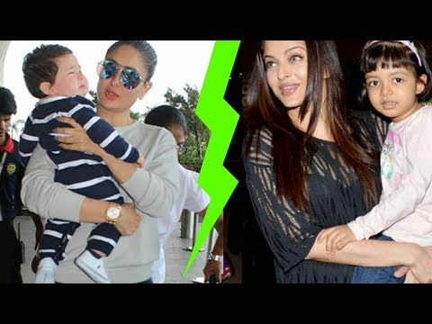 Aishwarya Rai Bachchan is better mom than Kareena Kapoor Khan ? Omg ! Major Fight