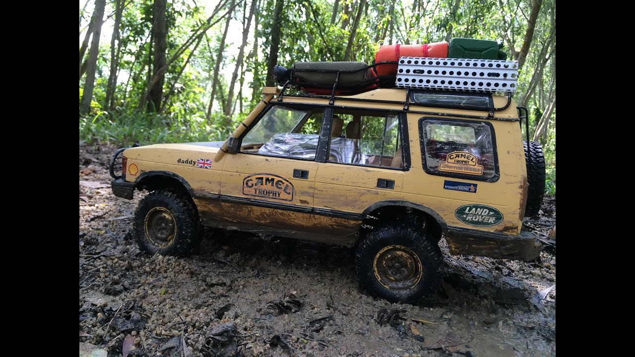 Camel Trophy Discovery 1 10 Scale Rc Youtube