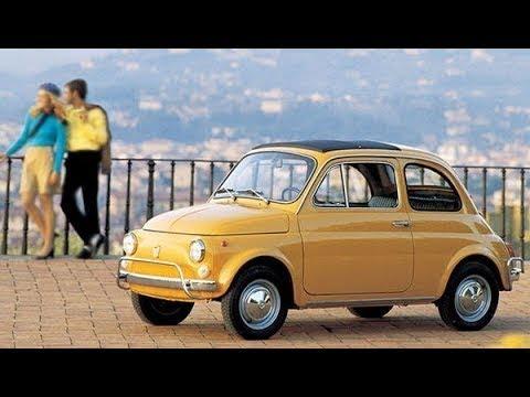 Utilitaria, il sogno dell'auto per tutti  La FIAT degli italiani
