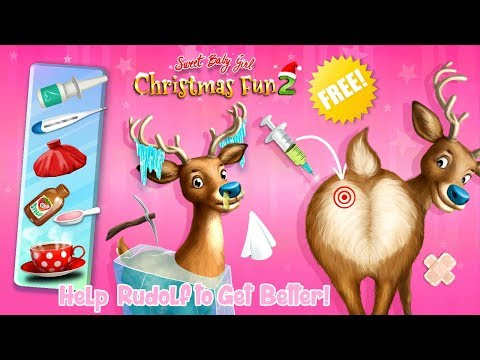 Sweet Baby Girl Christmas Fun 2 – Santa's Village & Winter Crafts - TutoTOONS Games for Kids
