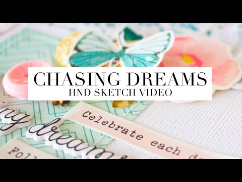 HND FEBRUARY SKETCH - CHASING DREAMS - PROCESS VIDEO