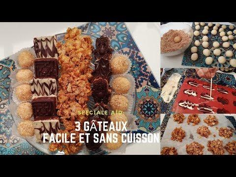 3-sortes-de-gâteaux-facile-et-sans-cuisson😋👌--recette-sohadga-n°23