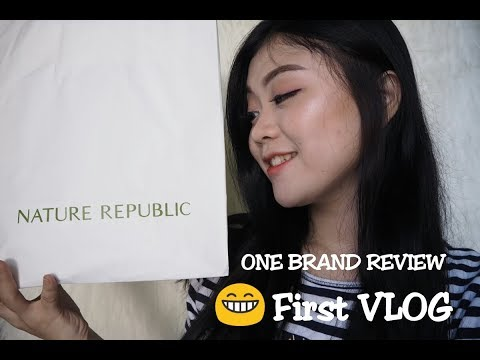 Review One Brand NATURE REPUBLIC (Skincare + Makeup) || #1 NATUREREPUBLIC