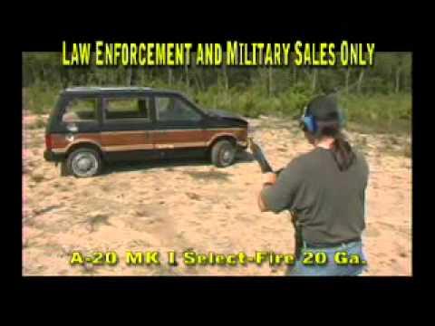 Auto Assault-12 (AA-12)
