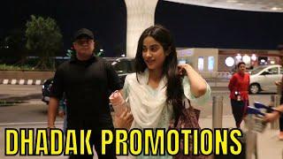 Janhvi Kapoor leaves for Dhadak promotions