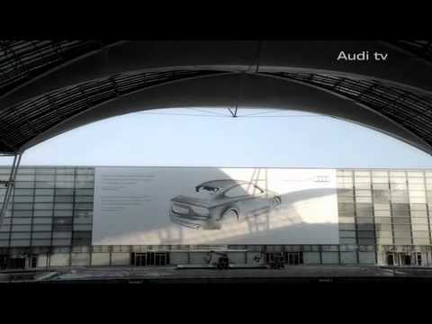 Audi A7 Spray Paint  Advertisement Bilboard