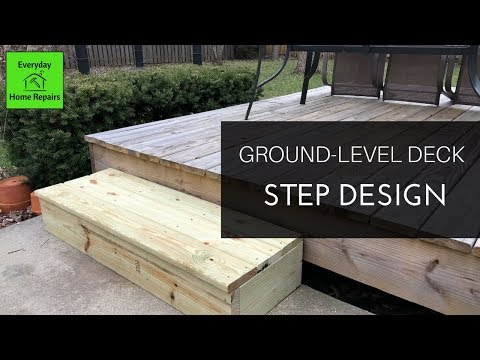 How to Build a Simple Deck Step