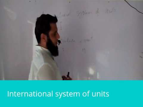 International system of units in urdu hindi physics class 9th