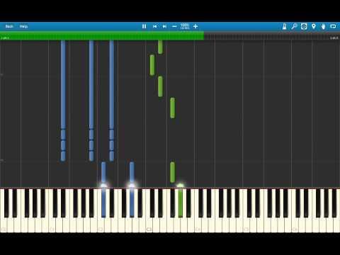 Skillet - Hero (Piano Tutorial | Synthesia)