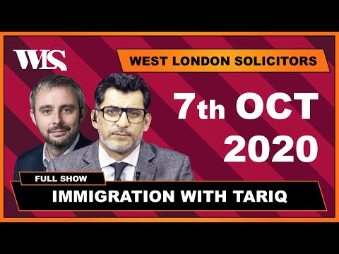Immigration with Tariq - 07-10-2020 - 2.5 Years Visa On TOEIC Cases.