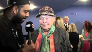 DUDLEY SUTTON INTERVIEW FOR iFILM LONDON / OUTSIDE BET UK PREMIERE