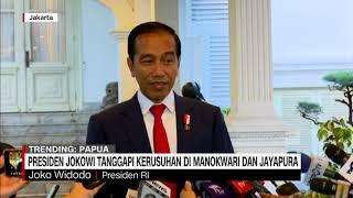 Pesan Damai Jokowi Tanggapi Kerusuhan di Papua & Manokwari