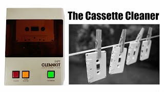 Cassette tape cleaner - What, how & why?