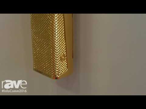 InfoComm 2016: K-Array Launches Install Line Gold Plated Speakers