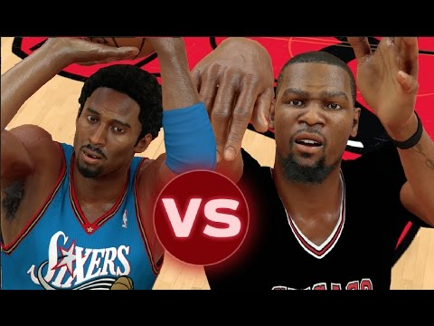 Best Shooting Guards In NBA History  VS Best Small Forwards In NBA History | NBA 2K17 Challenge
