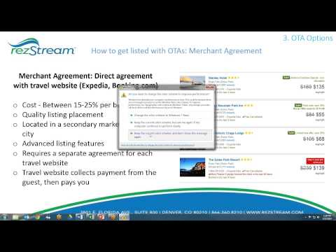 RezStream Webinar: Benefits of a Global Distribution System